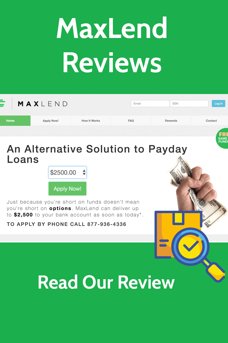 MaxLend Reviews: Is it a Scam or Legit Lender? Read Our Reviews on This Fast Cash, Short Term Lender to Find Out