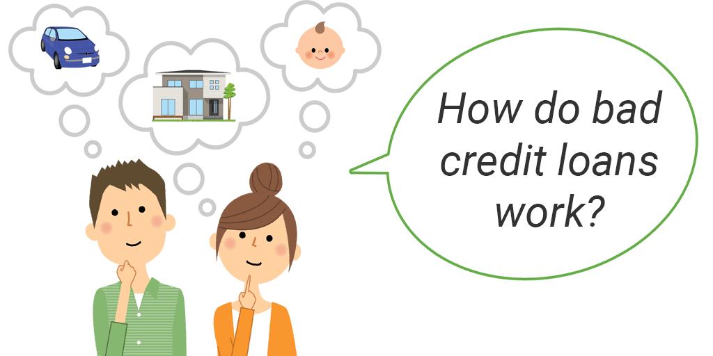 how bad credit loans work