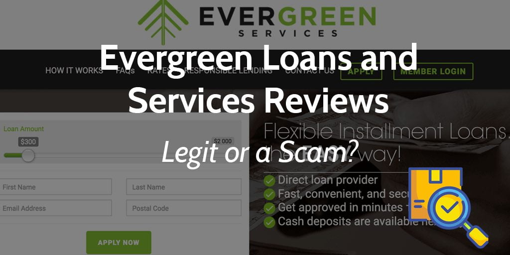 evergreen loans and services online reviews